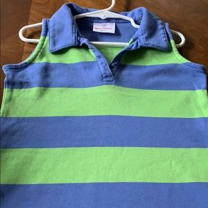 Hanna Andersson Toddler 90 (3T) preppy polo dress